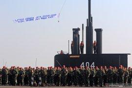Gelar pasukan Armada Jaya XXXVII