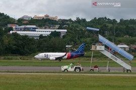 Pesawat Sriwijaya gagal mendarat akibat kabut asap