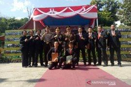 Kapolres Bangka Selatan beri penghargaan 12 anggota berprestasi