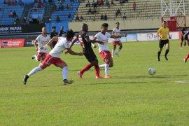 Persipura ditahan imbang 1-1 oleh Badak Lampung