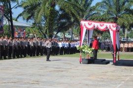 Bupati Sanggau jadi Irup HUT ke-73 Polri di Kembayan
