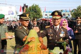 HUT Bhayangkara ke-73, ini kejutan TNI untuk Polda Bengkulu