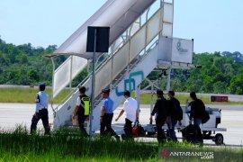 KPK bawa Gubernur Nurdin Basirun ke Jakarta
