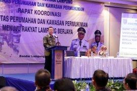 Lampung menargetkan perbaikan 74.248 unit rumah tidak layak huni