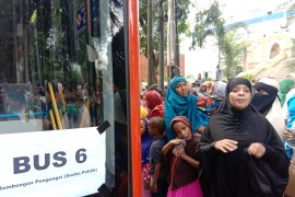 Ratusan pencari suaka ditampung di eks Kodim Jakarta Barat