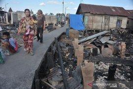 Pasca kebakaran kawasan padat penduduk Sungki Page 2 Small