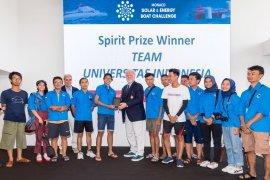 Mahasiswa FTUI raih juara empat ajang kapal hemat energi dunia