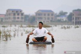 Jumlah korban tewas banjir China capai 17 orang