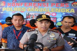 Polres Majalengka tembak dua buronan pencuri