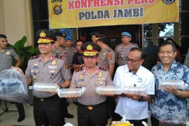 Polda Jambi gagalkan penyelundupan benih lobster Rp87,375 miliar