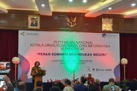 Kominfo optimis infrastruktur Palapa Ring rampung sebelum 17 Agustus