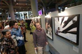 Foto Wapres Jusuf Kalla  hasil Lomba Foto nasional di pamerkan