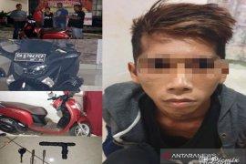Gembong curanmor Banjarbaru akhirnya berhasil ditangkap