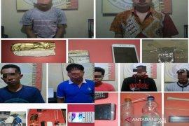 Sehari Polres Banjarbaru tangkap 10 pengguna Narkoba