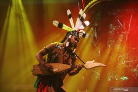 Spirit of The Hornbill di Rainforest World Music Festival 2019