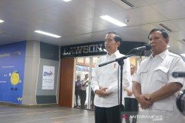 Jokowi: Bertemu dengan Prabowo pertemuan dua sahabat