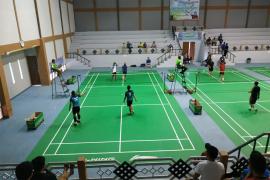 28 peserta ikuti pertandingan badminton  Kajari Cup di Kapuas Hulu
