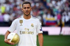 Hazard ingin kenakan nomor punggung Beckham di Real Madrid