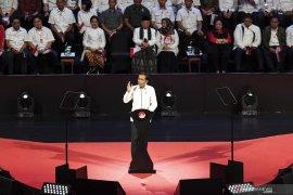 Jokowi: Silahkan oposisi asal jangan timbulkan dendam dan kebencian