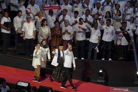 Partai koalisi sudah sodorkan nama ke Jokowi untuk jadi menteri