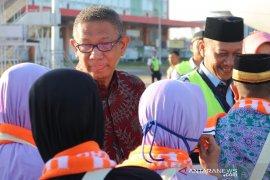 Gubernur Kalbar lepas jemaah calon haji kloter 11