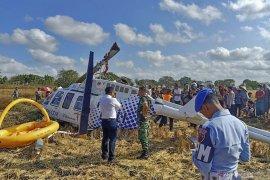 Helikopter jatuh di Lombok, penyebab belum diketahui