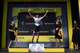 Hasil etape kesembilan dan klasemen sementara Tour de France
