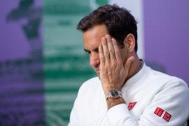 Roger Federer ratapi pupusnya peluang di depan mata