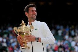 Novak Djokovic tak menyangka bisa lima kali juara