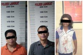 Polres Langkat tetapkan tiga tersangka pelaku penganiayaan dan perusakan