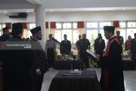 Ihwan Antasari dilantik sebagai Ketua DPRD Paser