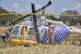 Investigasi jatuhnya helikopter di Lombok