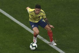 Atletico ingin boyong James  Rodriguez dari Real Madrid
