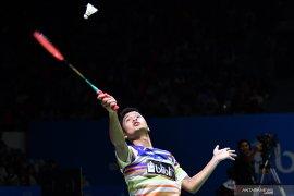 Ginting terhenti di babak dua setelah takluk dari Kantaphon di Indonesia Open