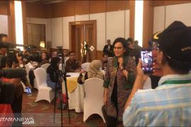 Menkeu: Dampak perang dagang, risiko Indonesia lebih kecil