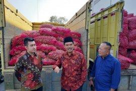 Kementan lepas ekspor bawang merah dan jahe dari Jatim