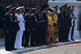 Presiden Jokowi ingatkan perwira remaja jaga NKRI dan Pancasila