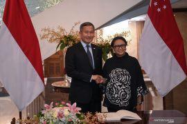 Indonesia upayakan mengambil alih ruang kendali udara dari Singapura