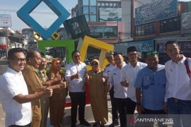 Pemkot Pangkalpinang resmikan Tugu Sinergi Kota Beribu Senyuman