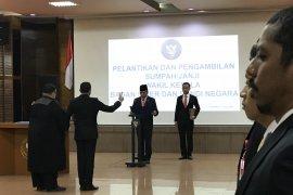Irjen Dharma Pongrekun dilantik menjadi Wakil Kepala BSSN