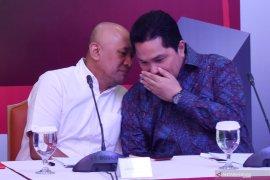 Erick Thohir akui tidak pernah diajak  bahas kabinet dengan Jokowi