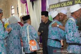 171 Calon Jamaah Haji di Berangkatkan