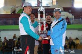 Kontingen Kabupaten Belitung raih juara umum Porprov Korpri 2019