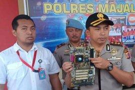 Polisi Majalengka ciduk tiga satpam pelaku pencurian