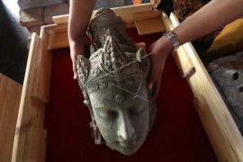 Penemuan arca peninggalan Kerajaan Kediri