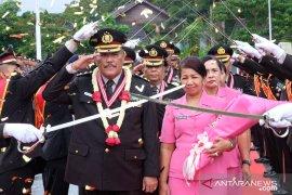 Kapolda Maluku pimpin wisuda purnabakti 32 personel