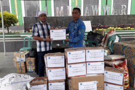 Masyarakat Malut galang bantuan korban gempa Halsel