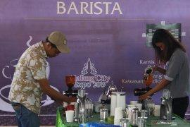 Kontes kopi dan barista