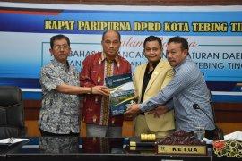DPRD Tebing Tinggi setujui P.APBD 2019