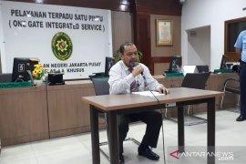 Hakim PN Jakpus diserang pengacara dengan ikat pinggang